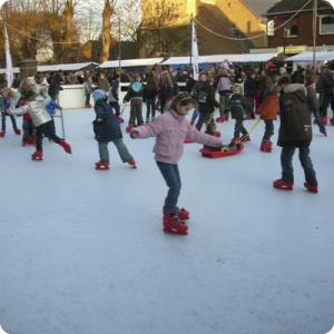 ijsbaan skihutspringkussen